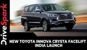 New Toyota Innova Crysta Facelift | India Launch | Prices, Specs, Design Updates & Other Details