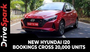 New Hyundai i20 Bookings Cross 20,000 Units | Milestone Achievement Details