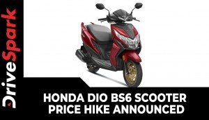 Honda Dio BS6 Scooter Price Hike Announced | New Prices & Other Updates Explained