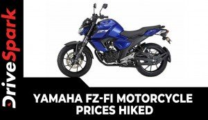 Yamaha FZ-Fi Motorcycle Prices Hiked | New Price List, Specs, Features & Other Updates Explained