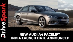 New Audi A4 Facelift India Launch Date Announced | Expected Prices, Specs, Features & Other Details