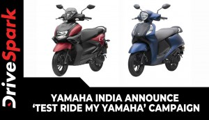 Yamaha India Announce 'Test Ride My Yamaha' Campaign | Here Are The Details