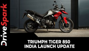 Triumph Tiger 850 India Launch Update | Adventure Tourer Listed On Website
