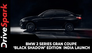 BMW 2 Series Gran Coupe 'Black Shadow' Edition | India Launch | Limited To Just 24 Units