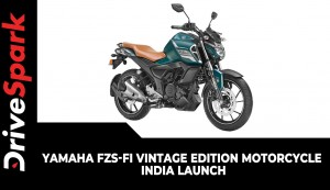 Yamaha FZS-Fi Vintage Edition Motorcycle | India Launch | Prices, Specs, Updates & Other Details