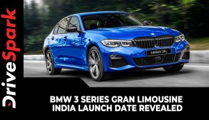 BMW 3 Series Gran Limousine India Launch Date Revealed | Expected Prices, Specs, & Other Details