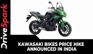 Kawasaki Bikes Price Hike Announced In India | New Price List & Other Details