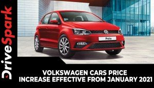 Volkswagen Cars Price Increase Effective From January 2021 | New Prices & Other Details