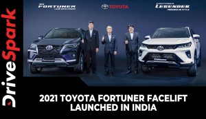 2021 Toyota Fortuner Facelift Launched In India | Prices, Specs, Variants & All Other Details
