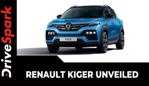 Renault Kiger Unveiled | Design, Interiors, Specs, Features, Expected Price & Other Details
