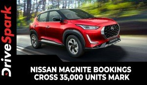 Nissan Magnite Bookings Cross 35,000 Units Mark | Milestone Achievement & Other Details