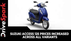 Suzuki Access 125 Prices Increased Across All Variants | Here Are The New Prices