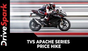 TVS Apache Series Price Hike | All RTR & RR Model Prices Increased By Up To Rs 3000