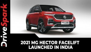 2021 MG Hector Facelift Launched In India | Prices, Specs, Design, Interior Updates & More