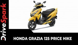 Honda Grazia 125 Price Hike | New Price List, Variants, & Other Updates Explained