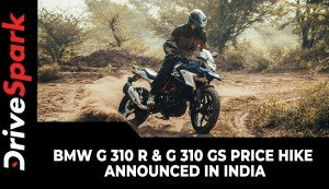 BMW G 310 R & G 310 GS Price Hike Announced In India | New Price List & Other Details