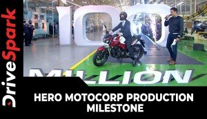Hero MotoCorp Production Milestone | 100 Millionth Two-Wheeler Roll-Out | All Details