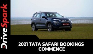 2021 Tata Safari Bookings Commence | India Launch Date Announced | Other Details