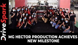 MG Hector Production Achieves New Milestone | All-Women Crew | Details