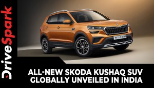 All-New Skoda Kushaq SUV Globally Unveiled In India | Expected Price, Specs, Features & More