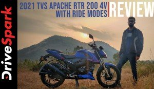 2021 TVS Apache RTR 200 4V Ft. Ride Modes Review | Road Test Review | DriveSpark