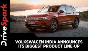 Volkswagen India Announces Its Biggest Product Line-Up | Four New SUVs