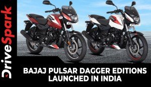 Bajaj Pulsar Dagger Editions Launched In India | Prices Start At Rs 1.02 Lakh