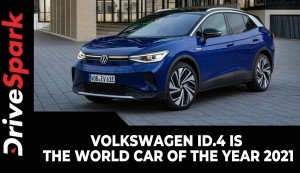 Volkswagen ID.4 Is The World Car Of The Year 2021 | First EV From VW To Win WCOTY