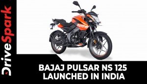 Bajaj Pulsar NS 125 Launched In India | Bajaj NS Priced At Rs 93,690