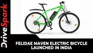 Felidae Maven Electric Bicycle Launched In India | Price, Range, Charging & Other Details