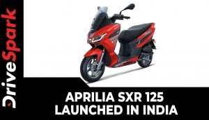 Aprilia SXR 125 Launched In India | Specs, Features, Details & Price