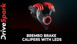 Brembo Brake Calipers With LEDs | New G Sessanta LED Brake Caliper Concept