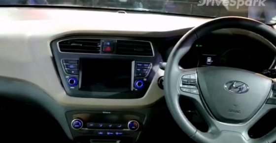 Auto Expo 2018 Hyundai Elite I20 Interior Details Walkaround DriveSpark