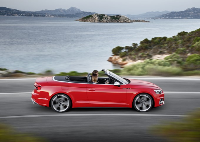 2017 Audi A5 And S5 Cabriolet Photos