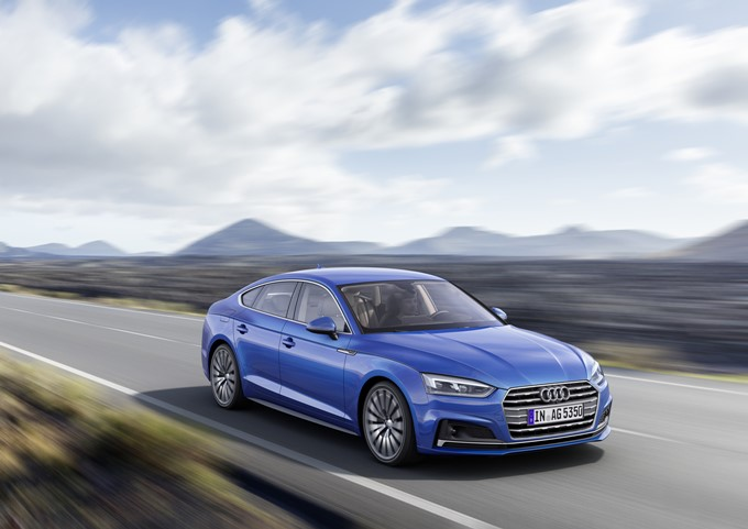 2017 Audi A5 and S5 Sportback Photos