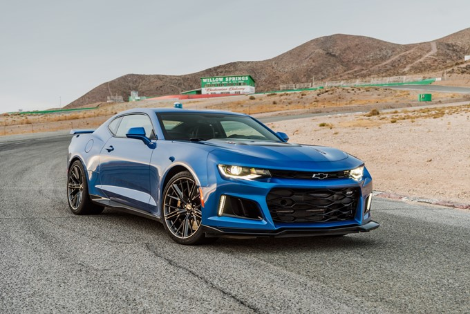 2017 Chevrolet Camaro ZL1 Photos