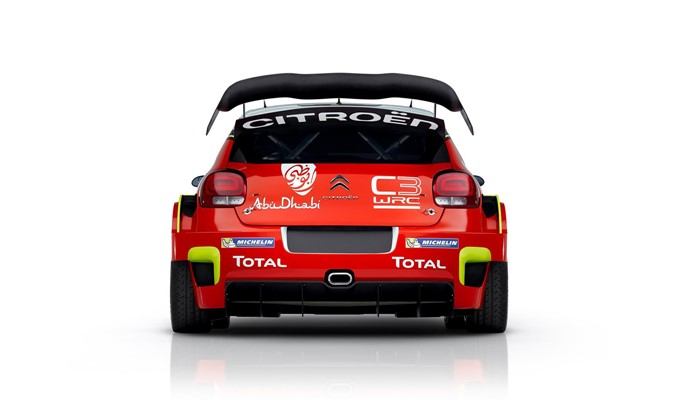 2017 Citroen C3 WRC Rally Photos