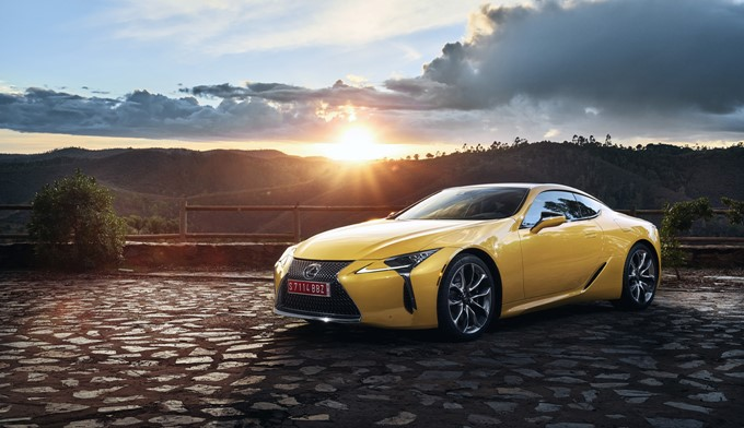 2017 Lexus LC 500 Photos