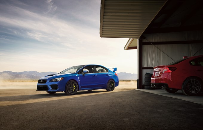 2017 Subaru WRX And WRX STI Photos