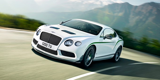 Bentley Continental GT3-R Photos