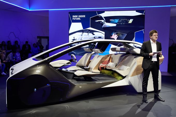 BMW i Inside Future Concept Photos