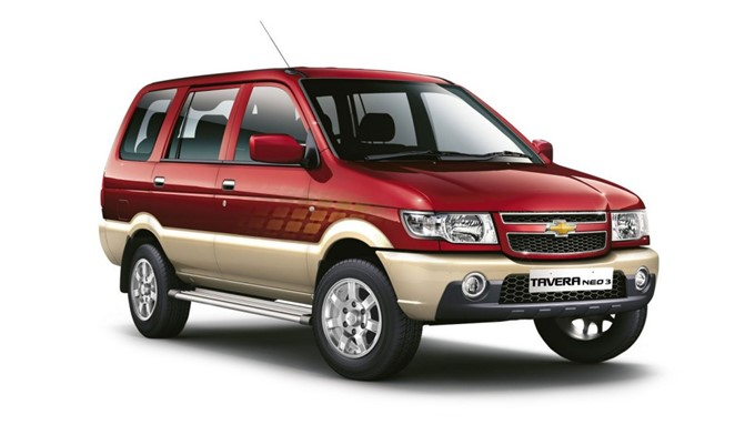 Chevrolet Tavera Photos