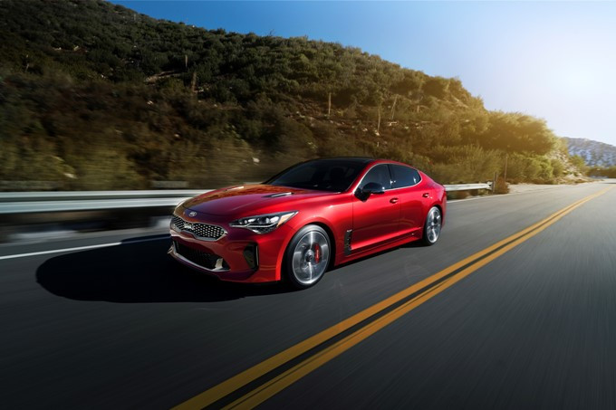 KIA Stinger Photos