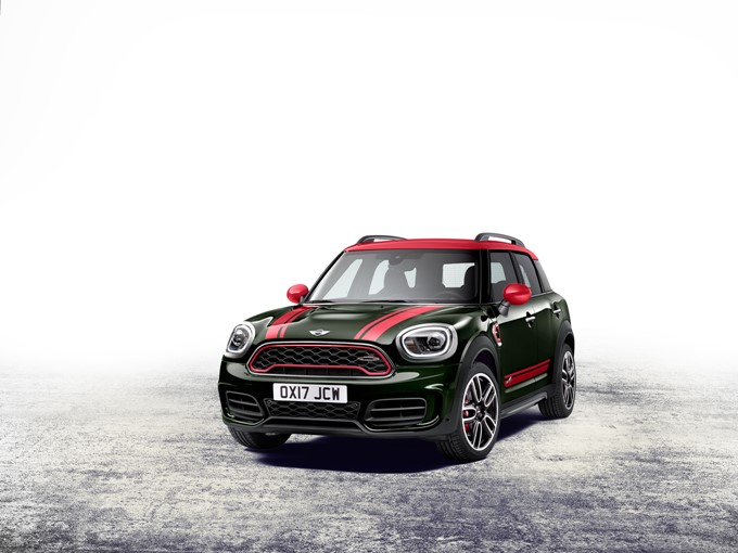 MINI John Cooper Works Countryman Photos
