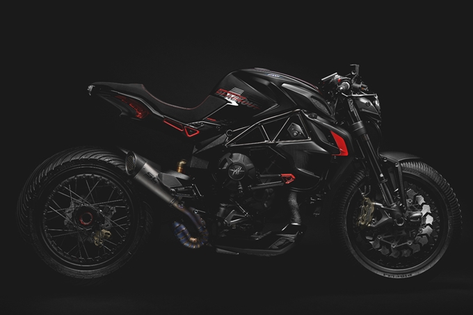 MV Agusta Dragster Blackout Photos