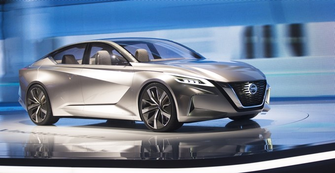 Nissan Vmotion 2.0 Concept Photos