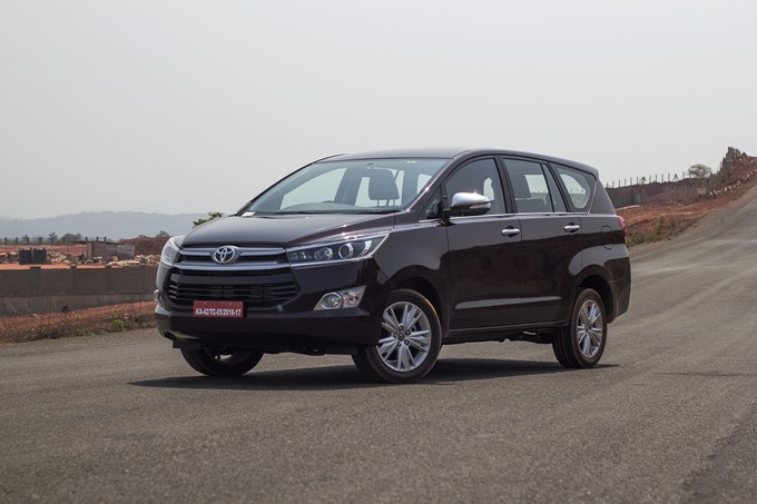 Toyota Innova Crysta Photos