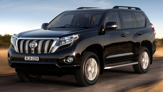 Toyota Land Cruiser Prado Photos