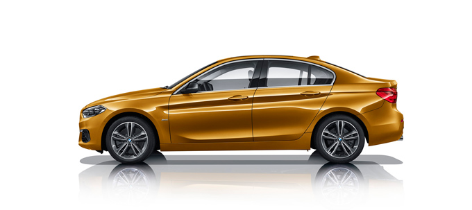 2017 BMW 1 Series Sedan Photos