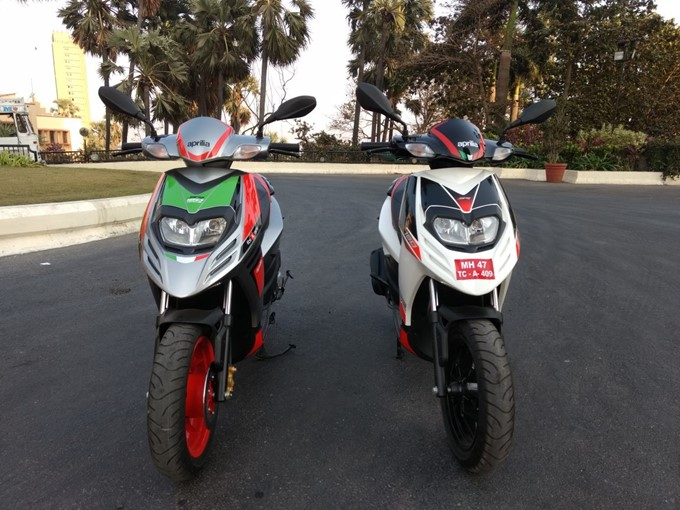 Aprilia SR 150 Race Photos
